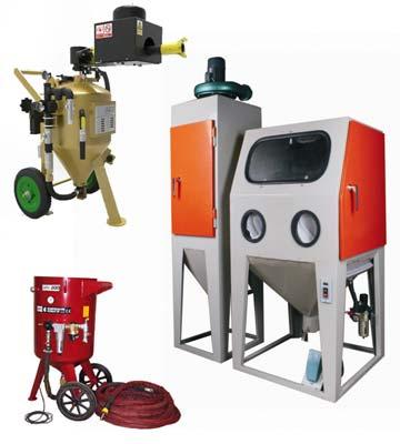Diferentes tipos de máquina de arena a presión